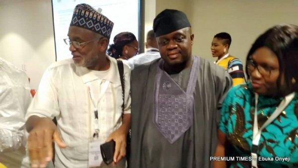 Lanre Tejuoso, the Former NHIS boss Mohammed Dogo Waziri and Chairman, Nigeria's Senate Committee on Health, Lanre Tejuosho