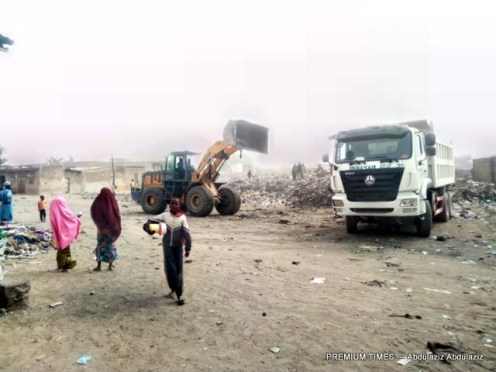 Refuse evacuation vehicles dispatched to Gama