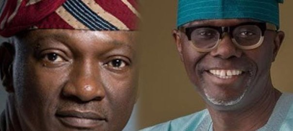 L-R: Jimi Agbaje of the PDP and Babajide Sanwo-olu of the APC {Thisdaylive}