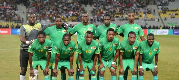 Zimbabwe's National Football Team [Photo: FIFA.com]
