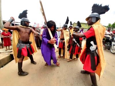 Catholic community celebrates Good Friday in Lagos (PHOTO: Chinedu Lazarus)