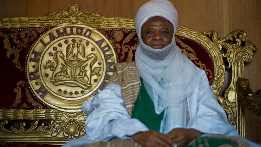 The Lamido of Adamawa, Aliyu Mustapha. [PHOTO CREDIT: Guardian.ng]