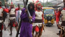 Easter procession used to illustrate the story. [PHOTO CREDIT: Naija News]