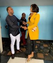 Femi Adebayo and Lilian Esoro