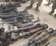 Ammunition recovered from Boko Haram. [PHOTO CREDIT: Official Twitter handle of the Nigerian Military]