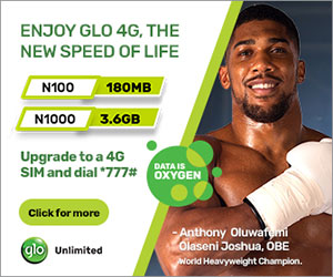 GLO Advert