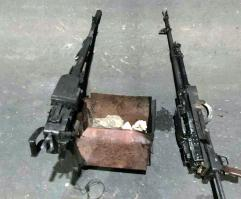 Damaturu attack: items recovered from terrorists by the Nigerian Army [PHOTO CREDIT: Nigerian Army]