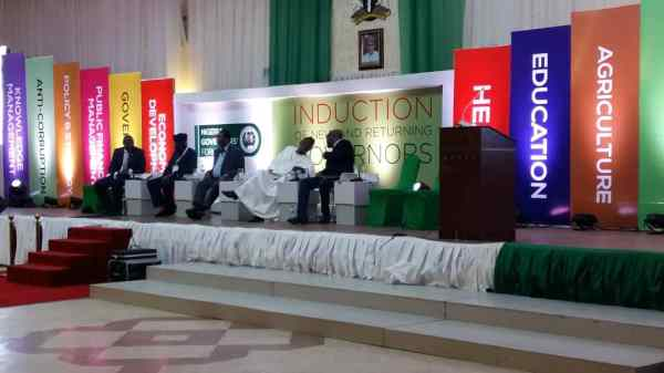 Former governor of Ogun state chairing the Strategic Communications and Press/Public Relations section. The Discussants are Nduka Obaigbena, Chairman publisher of This Day; Yemi Ogunbiyi of DailyTimes Nigeria.