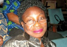 Stella Oyedepo, the General Manager of the National Theatre in Lagos State