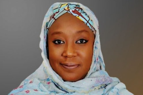 The wife of a former governor of Yobe State, Khadija Bukar-Abba. [PHOTO CREDIT: Leadership Newspaper]