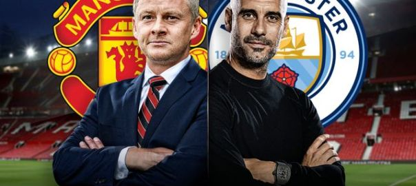 Manchester United vs Manchester City (Photo Credit Skysports.com)