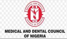 Logo of Medical and Dental Council of Nigeria (MDCN). [PHOTO CREDIT: Punchng]