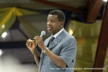 The General Overseer of the Redeemed Christian Church of God, (RCCG), Enoch Adeboye