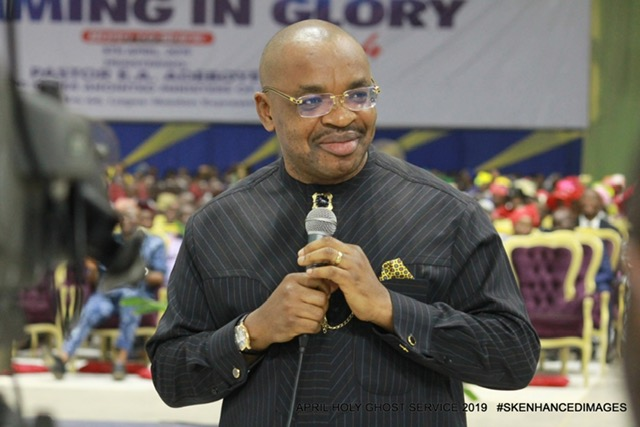 Governor Udom Emmanuel of Akwa Ibom State urges children to shun cultism
