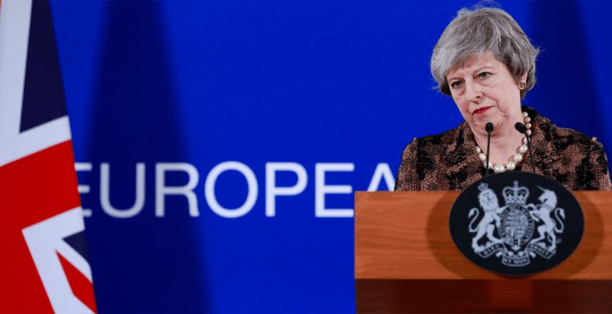 Theresa May [PHOTO: The Conversastion - EPA/Stephanie LeCocq]