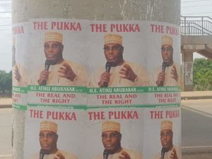 Atiku posters in FCT