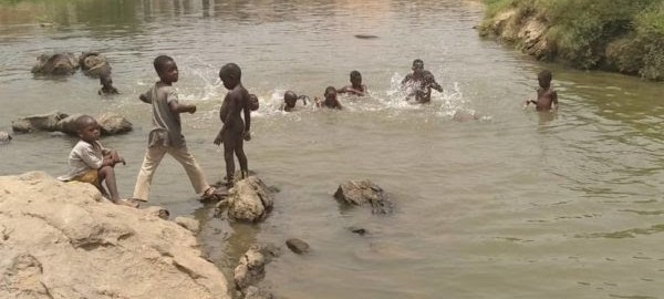 Wupa River at Gosa Kpanyi Kpanyi community in FCT
