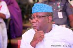 Governor Fayemi of Ekiti State and chairman of Nigerian Governors Forum.