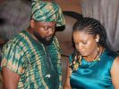 """Omotola, Yemi Blaq in new movie """"Shadow Parties'' [PHOTO CREDIT: thisdaylive]"""