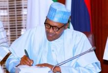 Buhari Signing