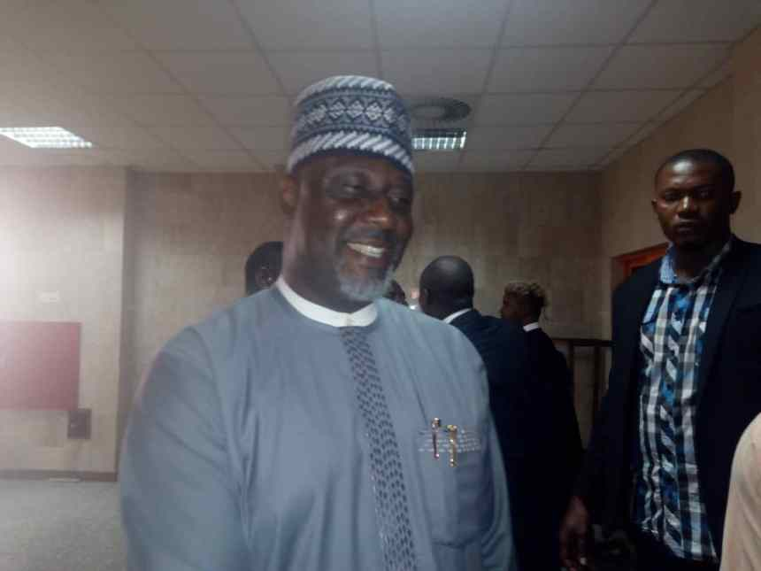 Dino Melaye in court today