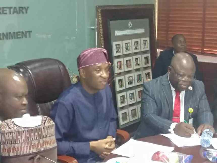 Secretary to Lagos state government, Tunji Bello.