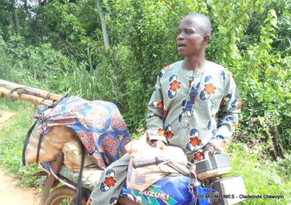 Moses Ezekiel - No access to financial services for rural farms.