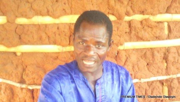 Bamgbola Aliu (Baba Sobiu) making a point in Gbokoto Tuntun.