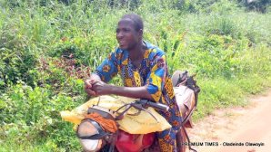 Baba Funlola - Farm products are poorly priced.