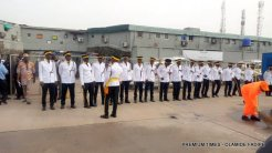 Air Force at the inauguration of Sanwo-Olu.
