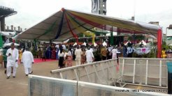 VIP section for Sanwo-Olu's inauguration.