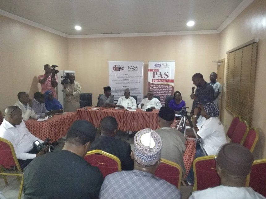 Interactive session between CSOs and NIPSS delegation in Niger state.