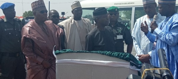 Osinbajo visits Maiduguri, says rebuilding of North-east on course