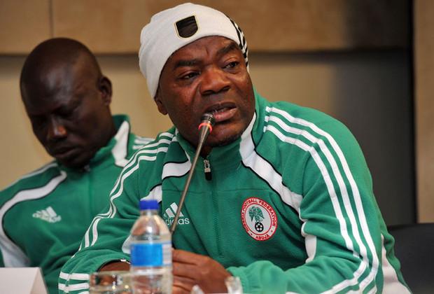 A former Nigeria U-20 coach, John Obuh. [PHOTO CREDIT: Kickoff.com]