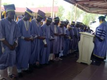 UDUS Matriculating students