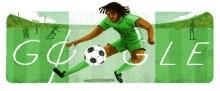 The Google Doodle for Samuel Okwaraji. [PHOTO CREDIT: Google]