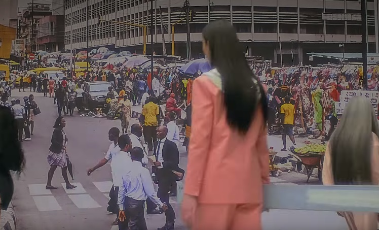 The popular CMS bustop in Lagos has been featured in Rihanna's campaign video for her brand, Fenty