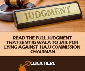 High court advert