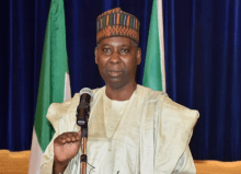 Nigeria's Permanent Representative to the United Nations, Tijani Muhammad-Bande