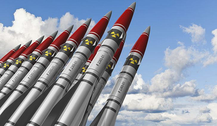 Nuclear Weapons[ PHOTO CREDIT: World Atlas]
