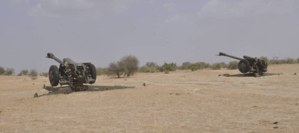 A joint military raid by Nigerian and Chadian forces known as MNJTF fought the terrorists around the Lake Chad Basin