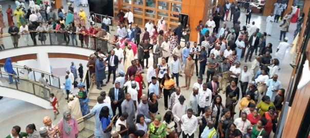 Job seekers throng House of Reps