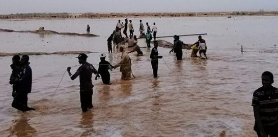 Flood in Ghat, Libya