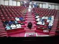 The Senate chamber getting more filled up