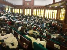 The ongoing house of reps voting to elect new speaker from APC
