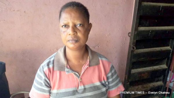 Mrs Akinnusi's husband, Wale has been in prison for six years following allegations of rape without knowing his fate