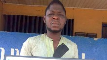 Alleged rapist, Olawoyin Segun.