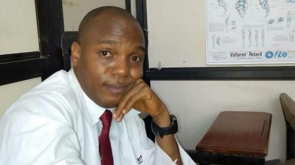 Dr Olalekan Bello, Senior Registrar, family medicine department, LAUTECH Teaching Hospital, Osogbo