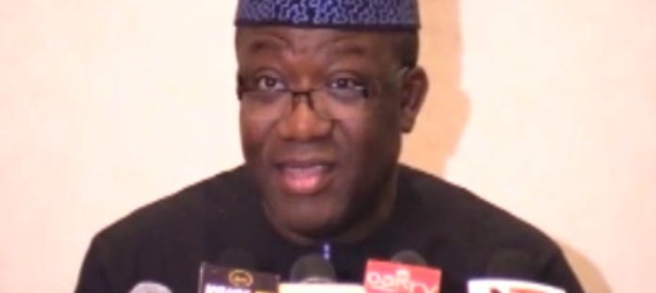 Kayode Fayemi, Ekiti state governor and Chairman, Nigeria Governors Forum (NGF)