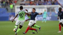 Nigeria vs France in the Women World Cup